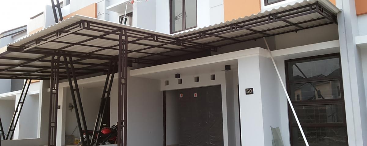 Canopy Atap Alderon Pvc Anti Karat Dan Tahan Panas